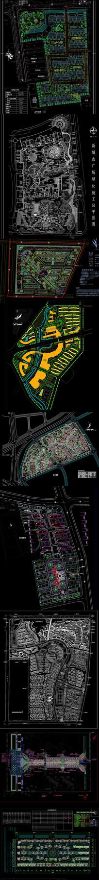 屋顶花园种植平面图