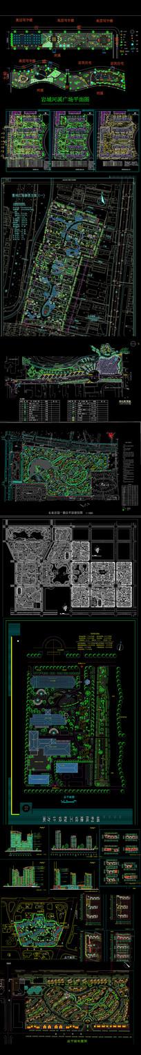 屋顶园林花园平面图