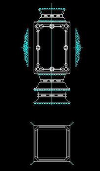 中式古典灯座