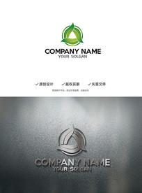 简约环保新能源logo设计