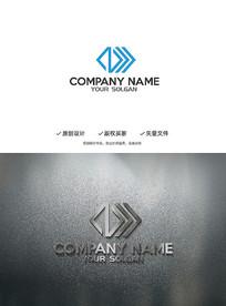 科技Z字母造型设计企业标志