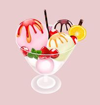 原创夏日冰爽雪糕冰淇淋