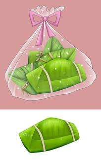 原创传统美食精美包装粽子