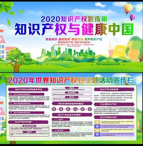 2020年全国知识产权宣传周展板