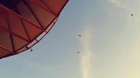 风筝实拍视频素材