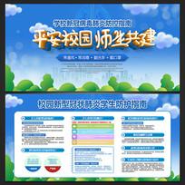 清新学校校园疫情防控宣传栏