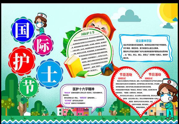 512国际护士节手抄报设计