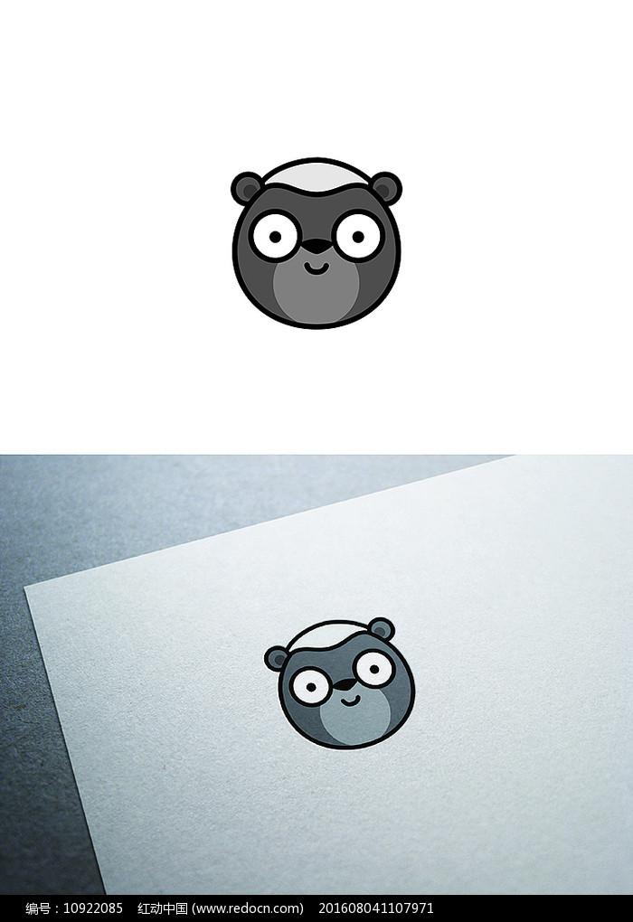 通蜜獾图标LOGO设计