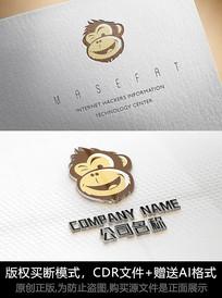猴子logo标志公司商标设计