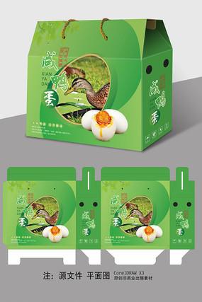 咸鸭蛋包装礼盒设计
