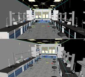 实验室3D模型