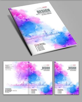 炫彩中国风画册封面