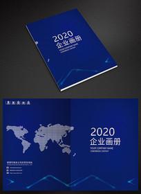 创意精致企业科技封面设计