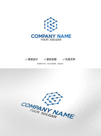 立体科技造型企业标志