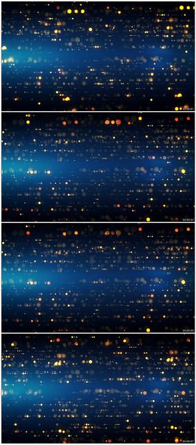 大气金色粒子晚会舞台背景视频素材