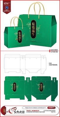 高档精品端午节粽子包装礼盒设计