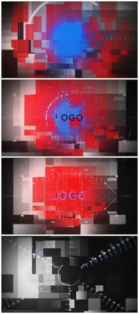 科技logo视频模板