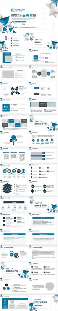企业市场分析品牌营销培训课件ppt模板