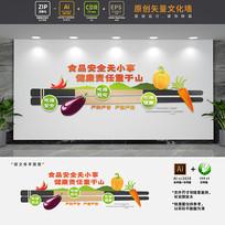 食品安全标语文化墙