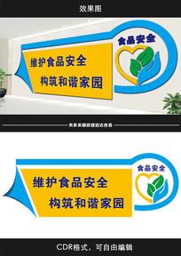 食品安全广告宣传文化墙