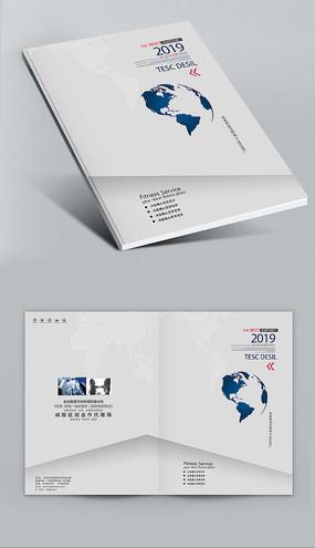 素雅简洁画册封面设计