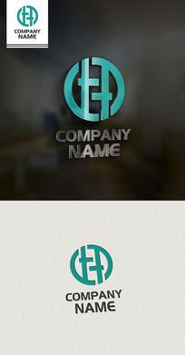 DHT字母LOGO设计