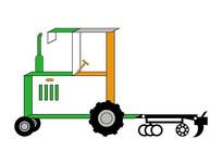 农用拖拉机24组农业logo
