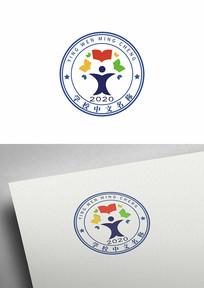 学校小学幼儿园教育机构标志logo