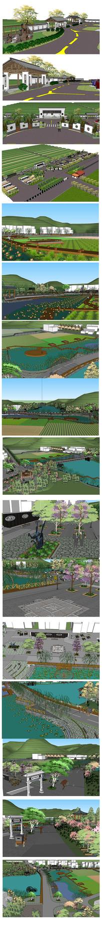 中式生态园景观设计