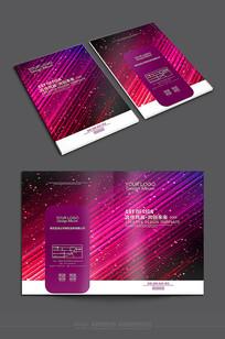 紫色精美通用封面素材