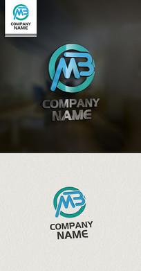 MB标志LOGO设计