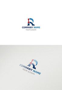 创意r车类别标志字母