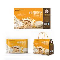 豆浆产品包装设计