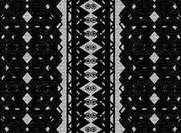 高端大气企业黑白几何地毯室内装饰画