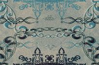 高端大气企业蓝色欧式地毯室内装饰画