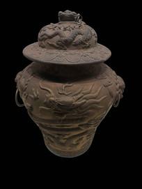 清朝青铜水壶