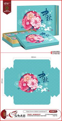中秋佳节月饼礼盒包装设计