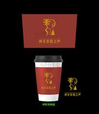 禅茶菩提之声奶茶包装