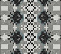 高端大气几何方格子地毯背景墙
