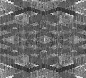 高端大氣歐式黑白幾何背景墻