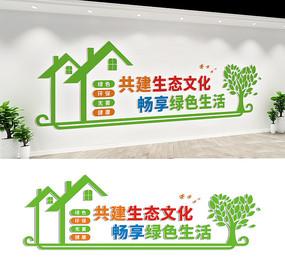 保护生态环境宣传标语墙