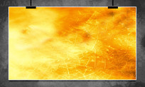 金色裂纹背景