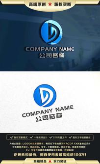 D字母标志D字母LOGO设计