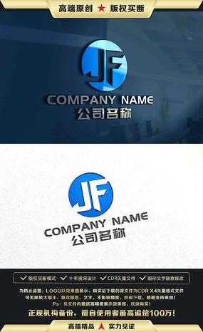 JF字母标志JF字母LOGO