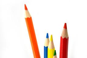 彩色铅笔摄影图