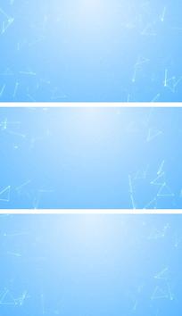 简洁科技空间点线面元素通用背景视频素材