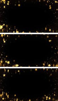 五角星粒子景深遮罩叠加通道循环蒙版视频素材