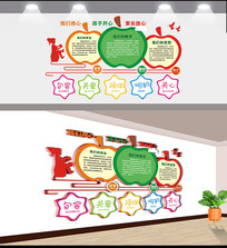 创意幼儿园文化墙设计