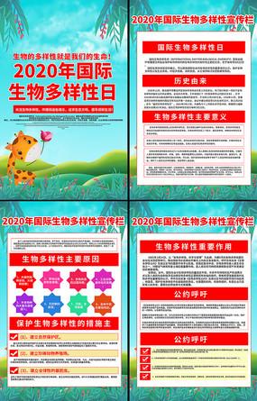 2020年国际生物多样性日宣传挂画