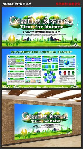 2020年世界环境日主题展板